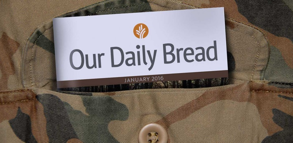 Our Daily Bread travels with me everywhere